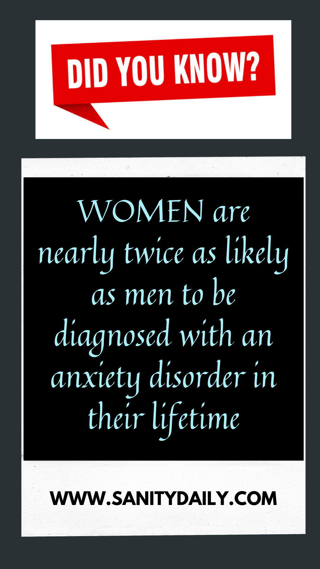 How do I cope up with anxiety as a woman