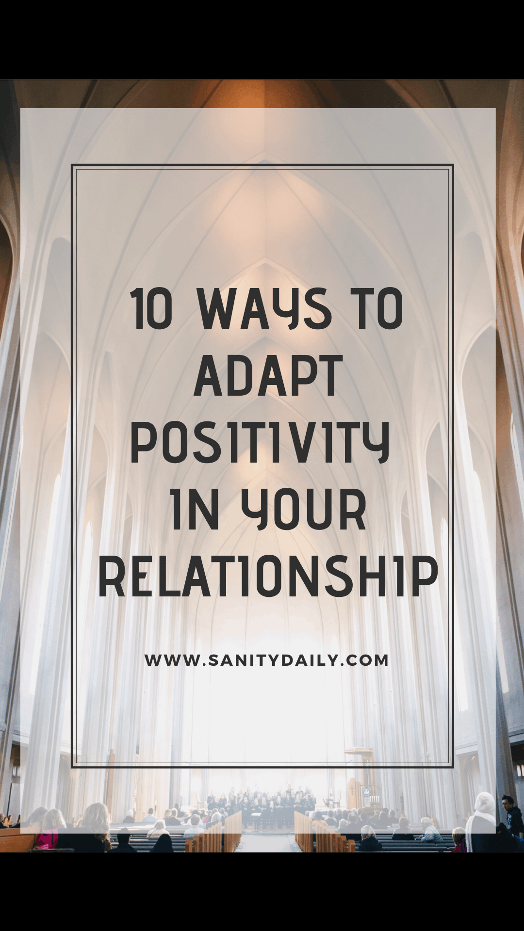 Saving your relationship with positivity