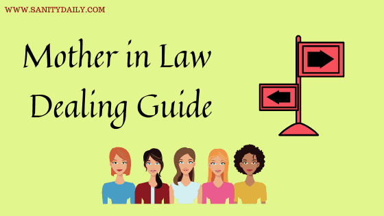 Mother in law dealing guide