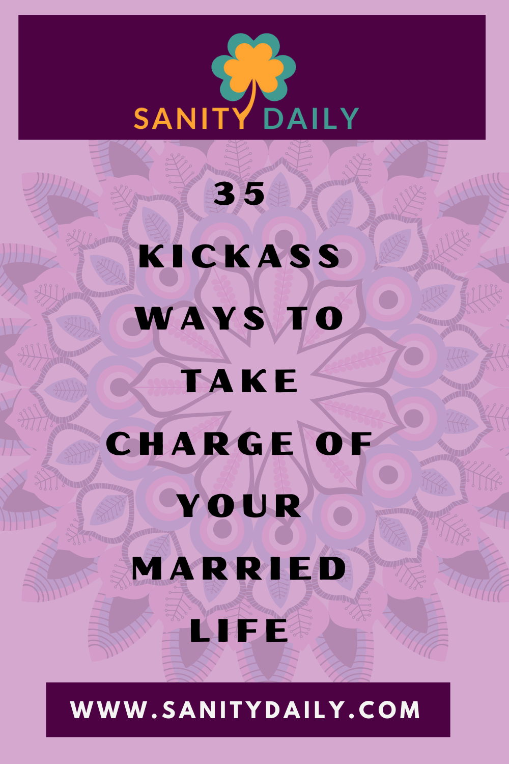 Taking charge of your life as a married woman