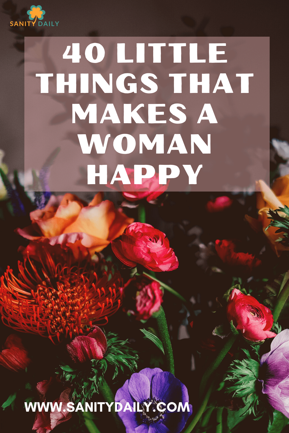 What makes a woman happy