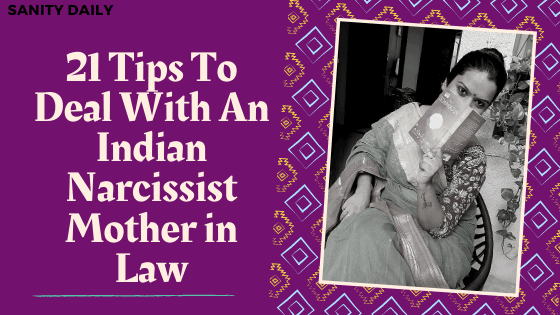 Tips to deal with an Indian narcissist mother in law