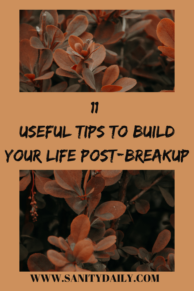 How should a woman rebuild her life post-breakup