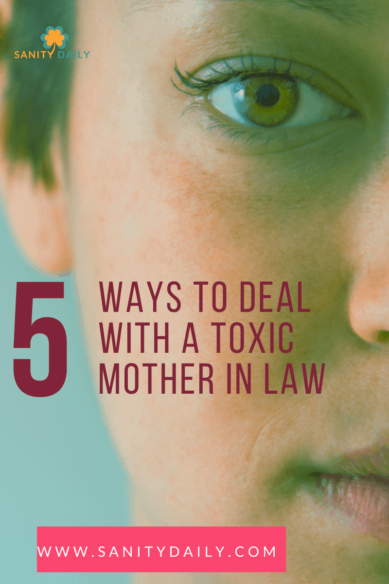 Signs of a toxic mother in law
