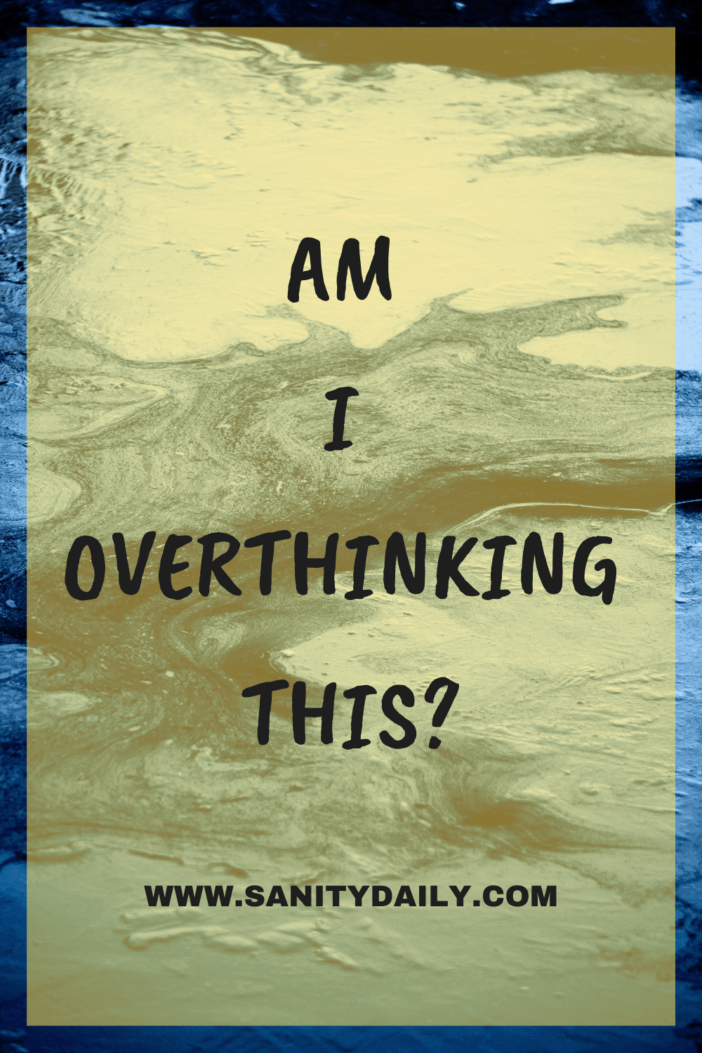 Brain Exercises To Stop Overthinking