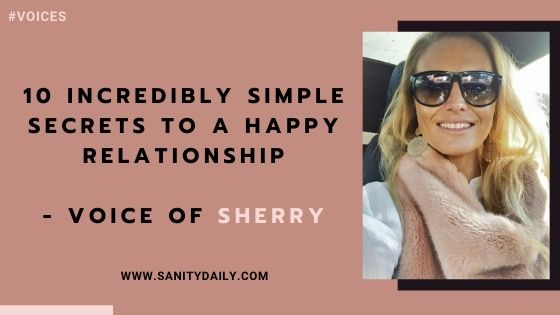 10 Incredibly Simple Secrets to a Happy Relationship