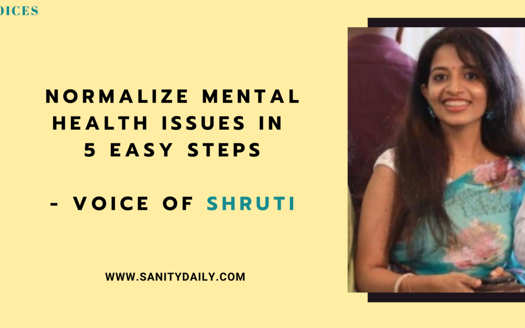 Normalize Mental Health Issues in 5 Easy Steps