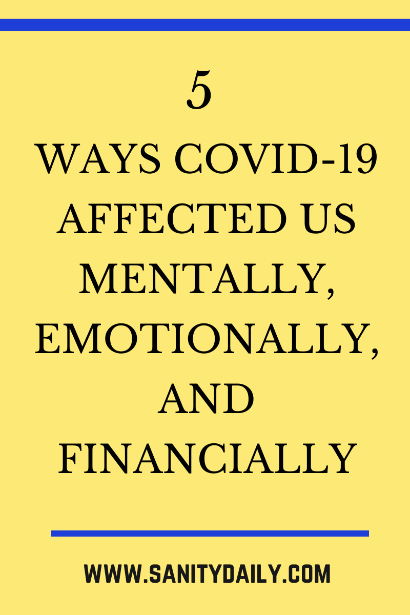 psychological impact of COVID-19